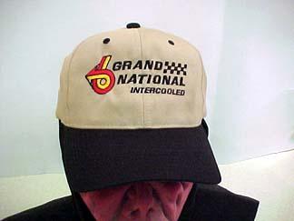 khaki buick ball cap
