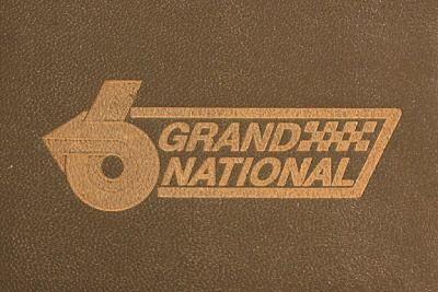 laser etched buick gn logo wallet