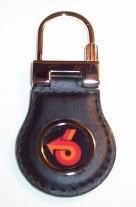 leather turbo 6 keyfob