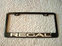 regal license plate frame