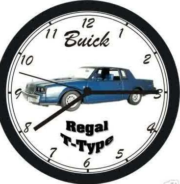 regal t-type clock