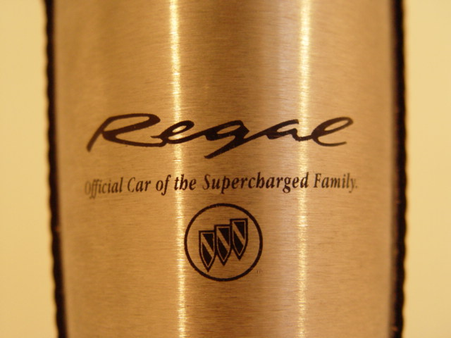 supercharged buick regal travel mug