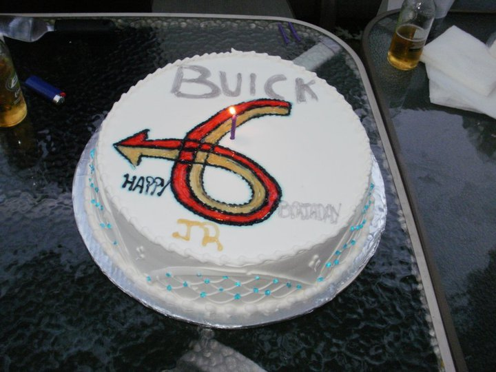 turbo 6 birthday cake
