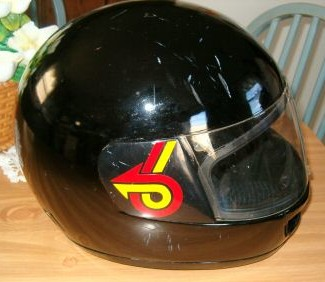 turbo 6 logo helmet