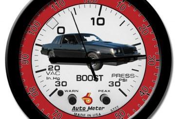 Turbo Buick Regal Themed Clocks