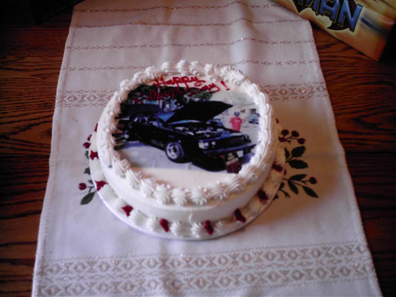 turbo buick regal fathers day cake