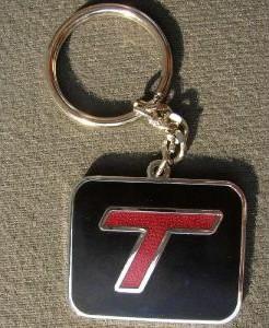 turbo t key chain