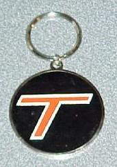 turbo t logo key ring