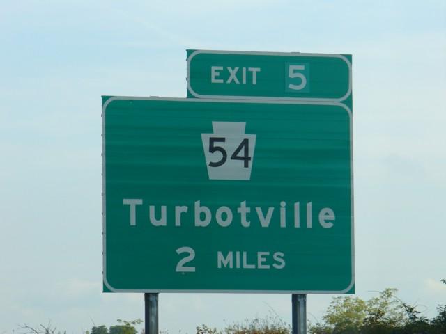 turbotville sign