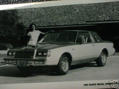 1981 Regal Sport Coupe print