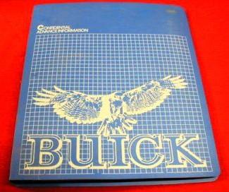 1981 buick sales manual