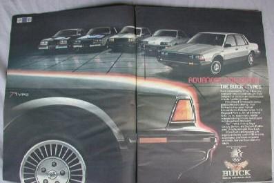 1981 buick t-type magazine ad