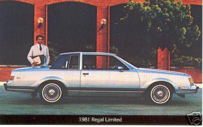 1981 regal limited postcard