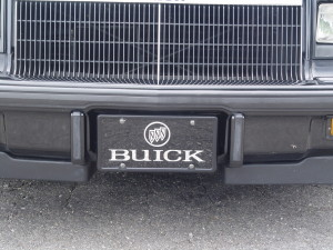 buick tri-shield license plate