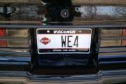 Vanity License Plates on Turbo Regals