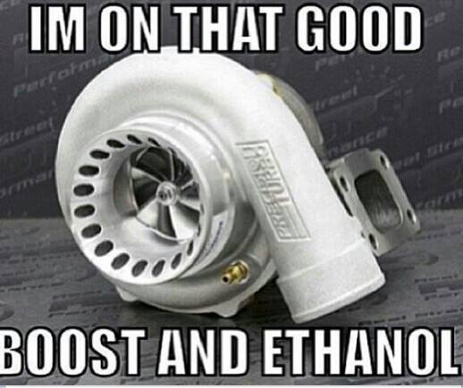 boost and ethanol