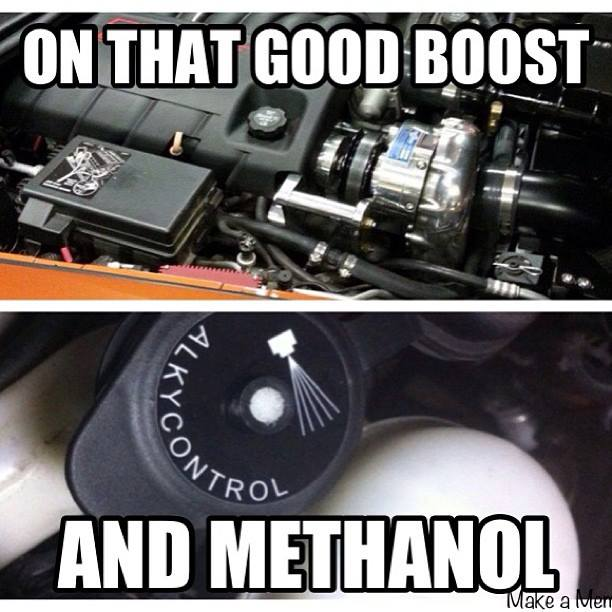 boost and methanol