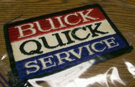 buick quick service patch