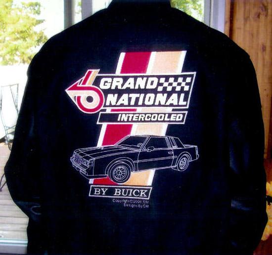 custom buick grand national jacket