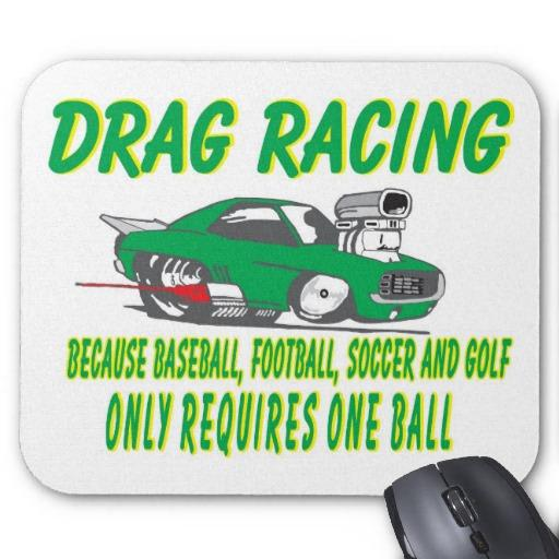 drag racing requires