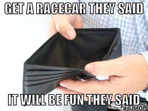 get a race car