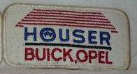 houser buick opel patch