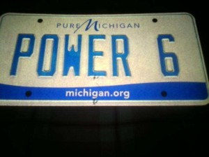 power 6 plate