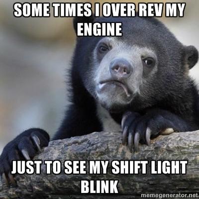 shift light
