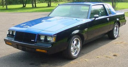 two tone buick grand national