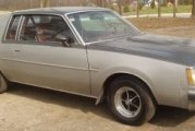 1978 Buick Regal Sport Coupe Turbo Silver Two Tone