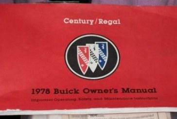 1978 Buick Literature