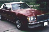 1978 Buick Regal Sport Coupe Turbo Dark Red