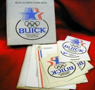 1984 olympic plans dealer binder kit