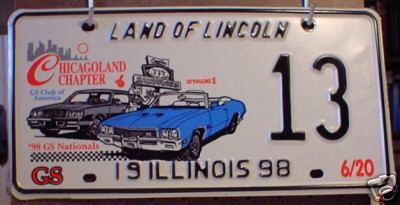 1998 plate