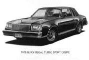 1978 Buick Regal Emblems & Parts