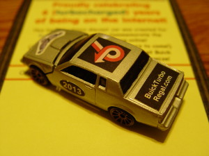 turbo regal die cast car