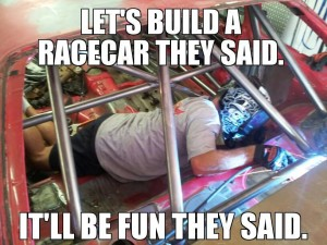 build a race car
