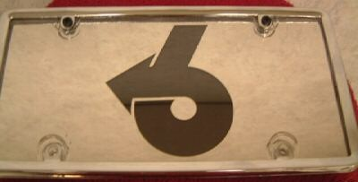 stainless steel license plate