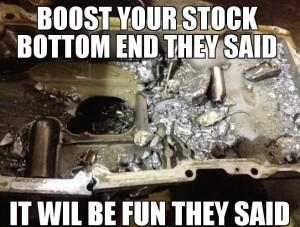 stock bottom end