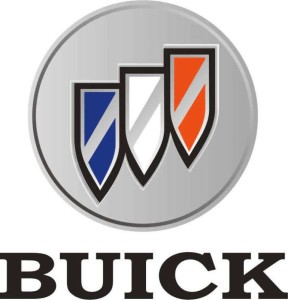 18inch buick tri shield logo sticker