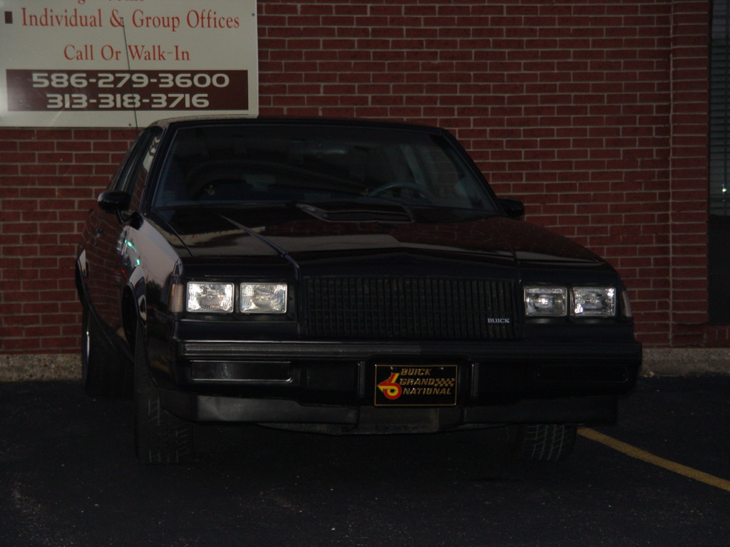 1987 buick regal grand national