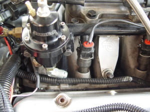 fuel line return installation