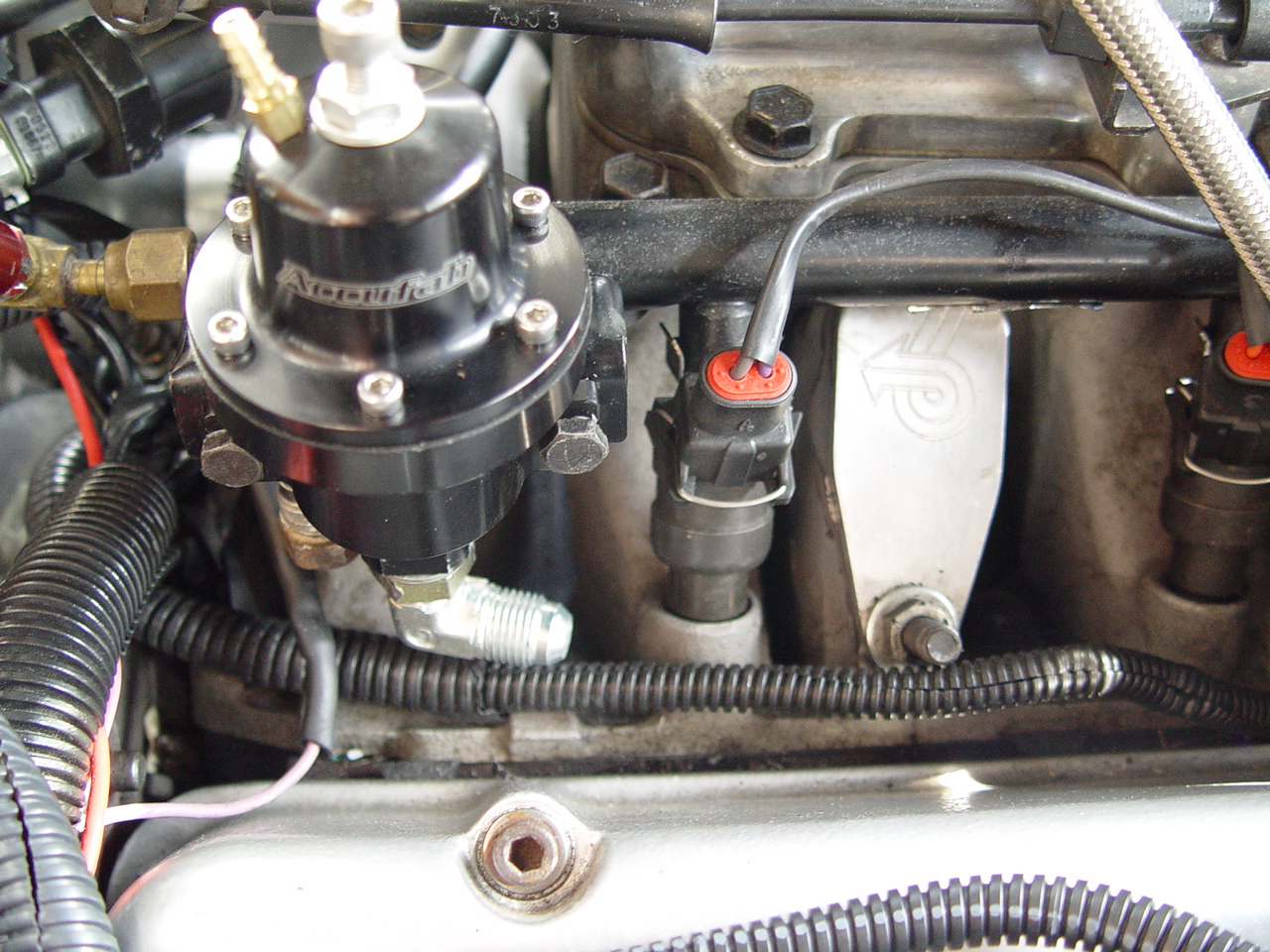 Install a New #6 AN Braided Return Line on Buick Grand National