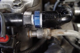 Install a New #8 AN Braided Fuel Feed Line on a Buick Grand National