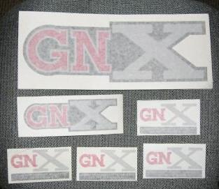 GNX STICKERS