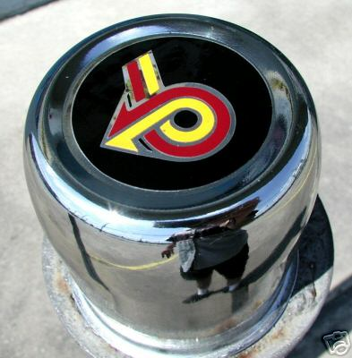 TURBO 6 CENTER CAP DECALS