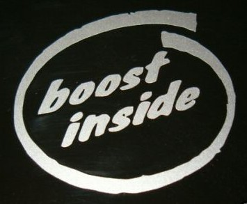 boost inside decal