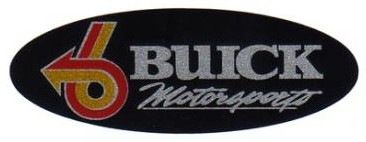 buick motorsports oval sticker