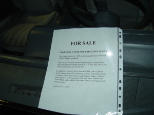 buick regal wh1 for sale