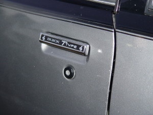 buick t-type door inserts